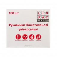 Перчатки РЕ (L) 100шт в боксе Л...